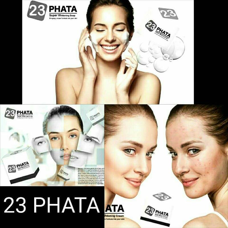 23 มหาเสน่ห์... เสน่ห์ความงามแบบดารา ผิวขาวออร่า ในราคาที่สุดคุ้ม!! 23 PHATA Super Whitening Cream Bfd817f69da2c362ddbe659b96cd833b